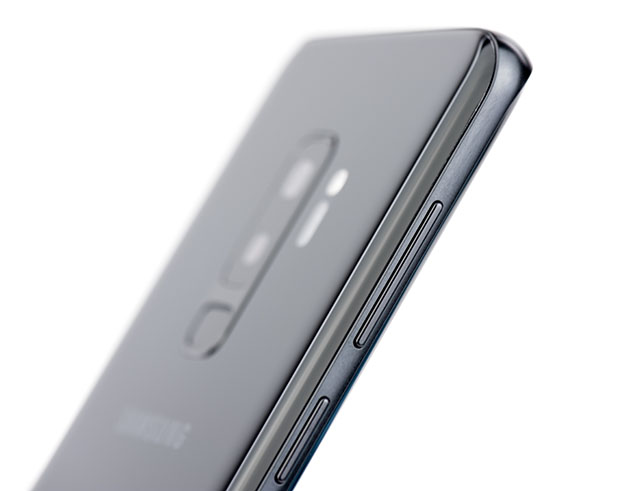 Samsung Galaxy S9+ krawędź boczna