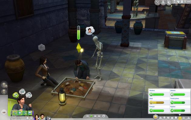 The Sims 4: Przygoda w dżungli - spotkanie z duchami