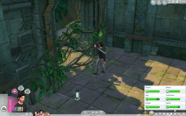 The Sims 4: Przygoda w dżungli - maczeta w ruch
