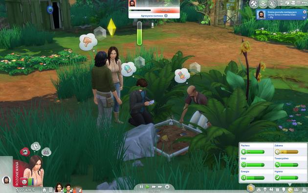 The Sims 4: Przygoda w dżungli - wykopywanie skarbów i weryfikacja ich wartości
