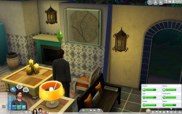 The Sims 4: Przygoda w dżungli - artefakt w domu