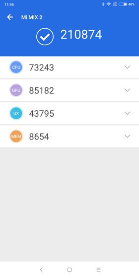 Xiaomi Mi Mix 2 Snapdragon 835 Antutu 7