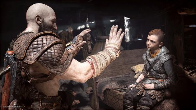 God of War - Kratos z Atreusem
