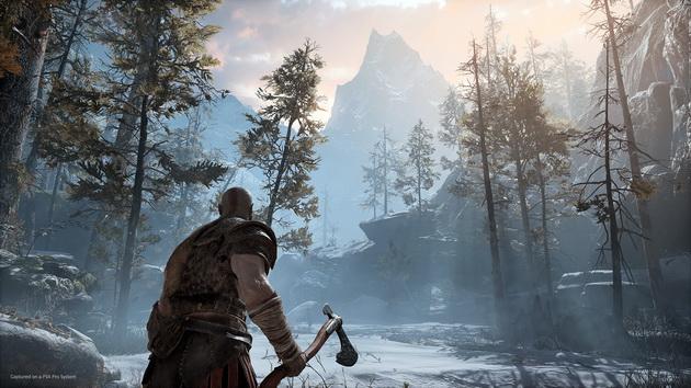 God of War - Kratos z toporem