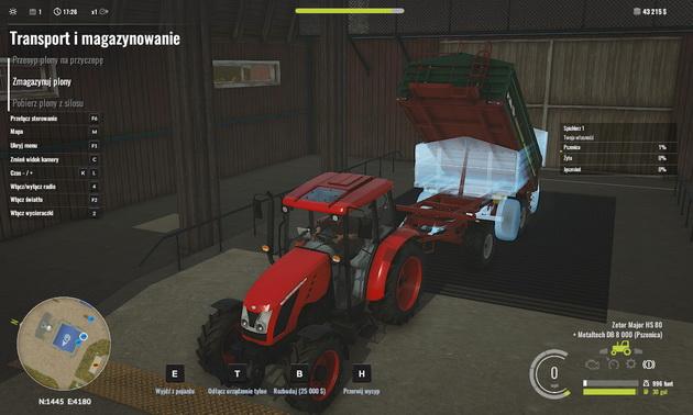 Pure Farming 2018 - transport i magazynowanie