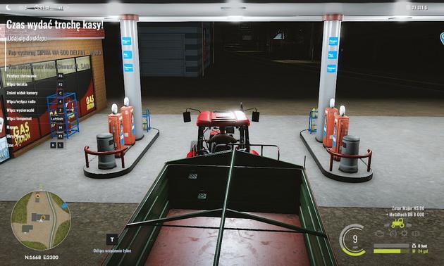 Pure Farming 2018 - tankowanie ciągnika