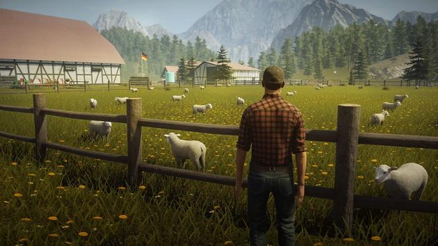 Pure Farming 2018 - niemieckie landy