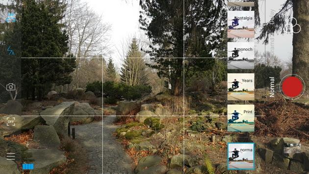 Feiyu-Tech Vimble 2 - ekran główny aplikacji Vicool