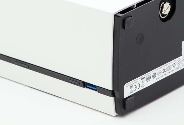 QNAP TS-228A - otwory wentylacyjne