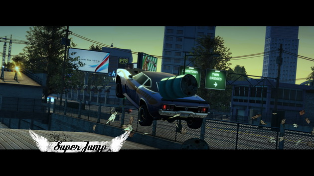 Burnout Paradise Remastered - super jump