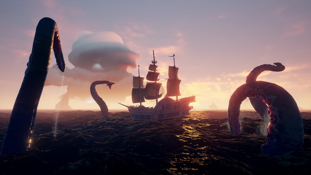 Sea of Thieves - kraken