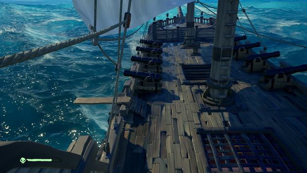Sea of Thieves - fenomenalne odwzorowanie wody