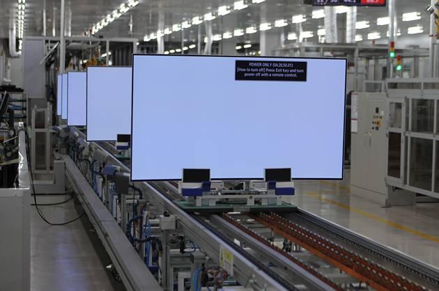 Produkcja telewizorów 4K