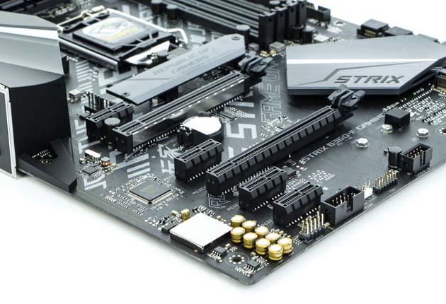 ASUS ROG STRIX B360-F Gaming - sloty