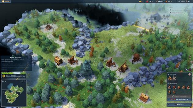 Northgard - rozwój osady