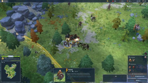 Northgard - walka z wilkami