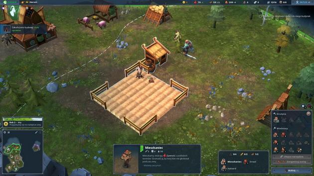 Northgard - rolnik i jego pole