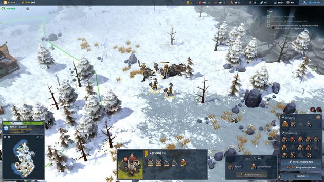 Northgard - walka zimą
