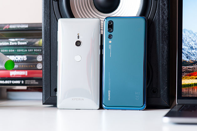 Sony Xperia XZ2 vs Huawei P20 Pro