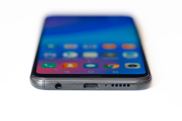Huawei P20 Lite - gniazdo słuchawek 3,5 mm