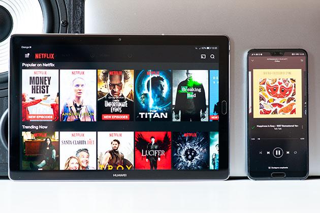 Huawei MediaPad M5 10 - ekran