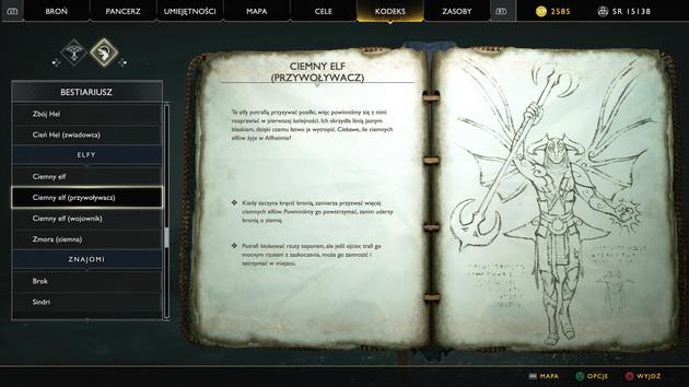 God of War - notatki Atreusa