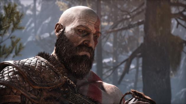 God of War - stary Kratos