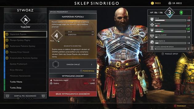 God of War - nowy napierśnik