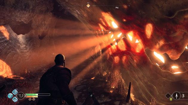 God of War - zabawa światłem