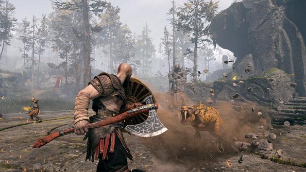 God of War - walka