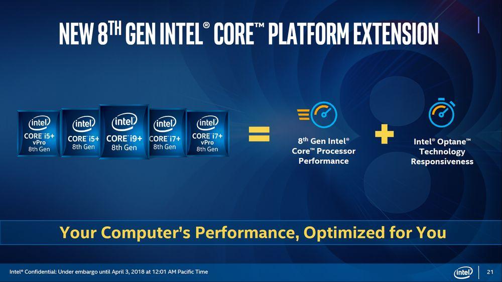 Intel Core+ - laptopy z pamięcią Intel Optane