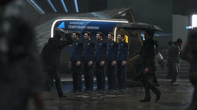 Detroit: Become Human - stacja ładowania dla androidów