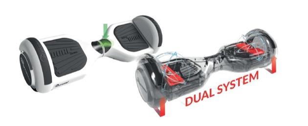 Deskorolka SKYMASTER Wheels 6.5 Dual