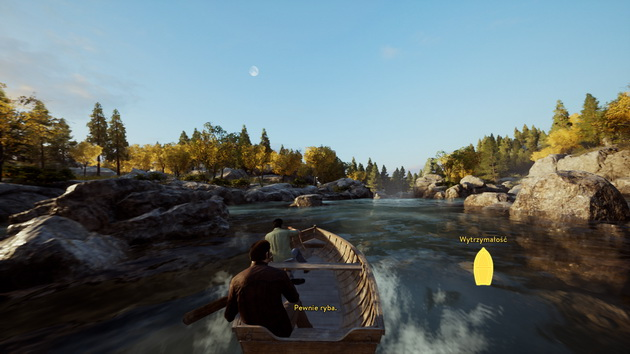A Way Out - spływ łodzią
