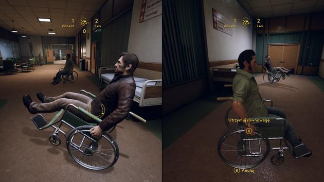 A Way Out - zabawa na wózkach