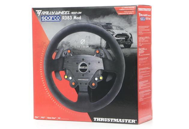 Thrustmaster Sparco R383 Mod - pudełko