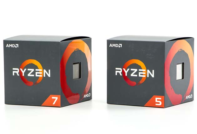 AMD Ryzen 7 2700 i AMD Ryzen 5 2600