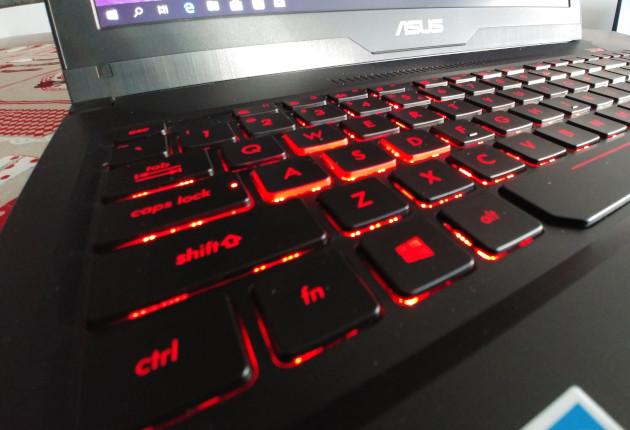 Asus FX503VD klawiatura