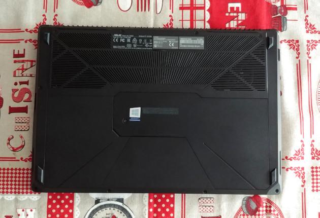 Asus FX503VD spód