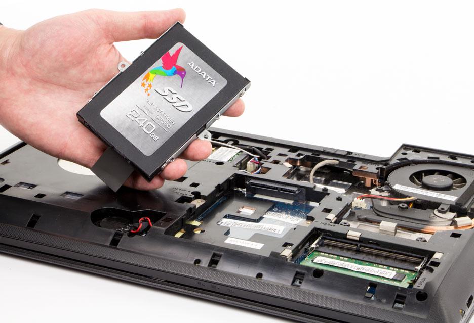 Wymiana dysku HDD na SSD