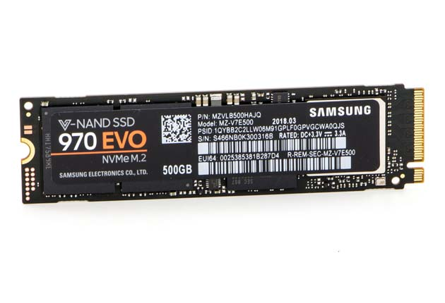 Samsung SSD 970 EVO 500 GB
