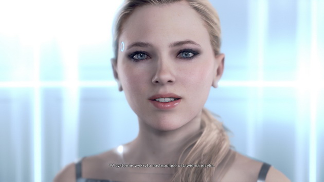 Detroit: Become Human - prezenterka android