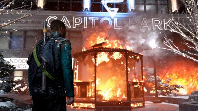 Detroit: Become Human - Marcus i płonąca altana