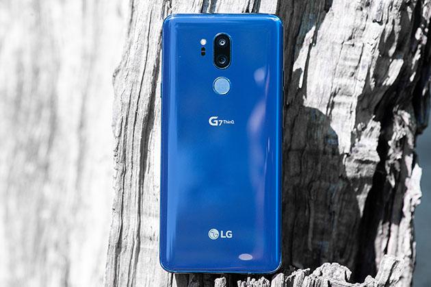 LG G7 ThinQ - tył
