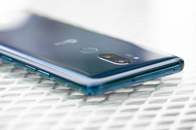 LG G7 - przycisk Google Assistant