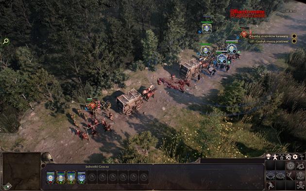 Ancestors Legacy - atak na konwój