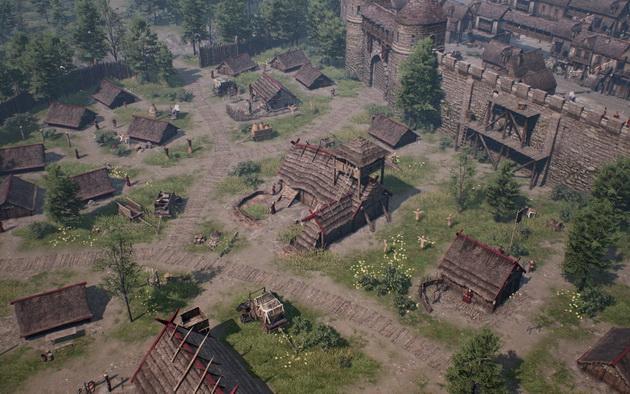 Ancestors Legacy - ładnie prezentujące się budynki
