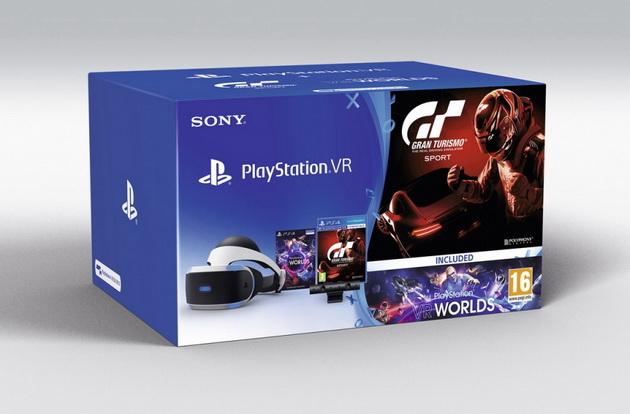 Prezenty na Dzień Dziecka w sklepie RTV Euro AGD - gogle Playstation VR z 2 grami