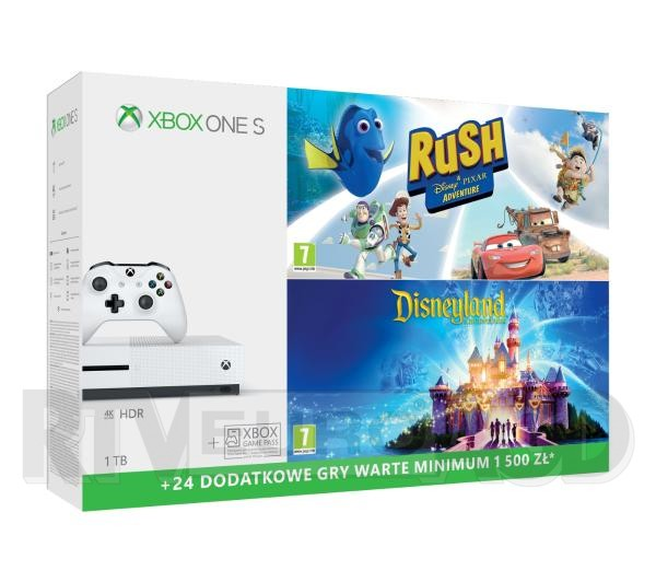 Propozycje prezentowe na Dzień Dziecka w RTV Euro AGD - Xbox One S