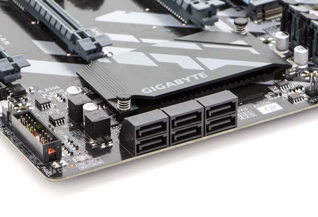 Gigabyte Z370 HD3-OP - porty SATA